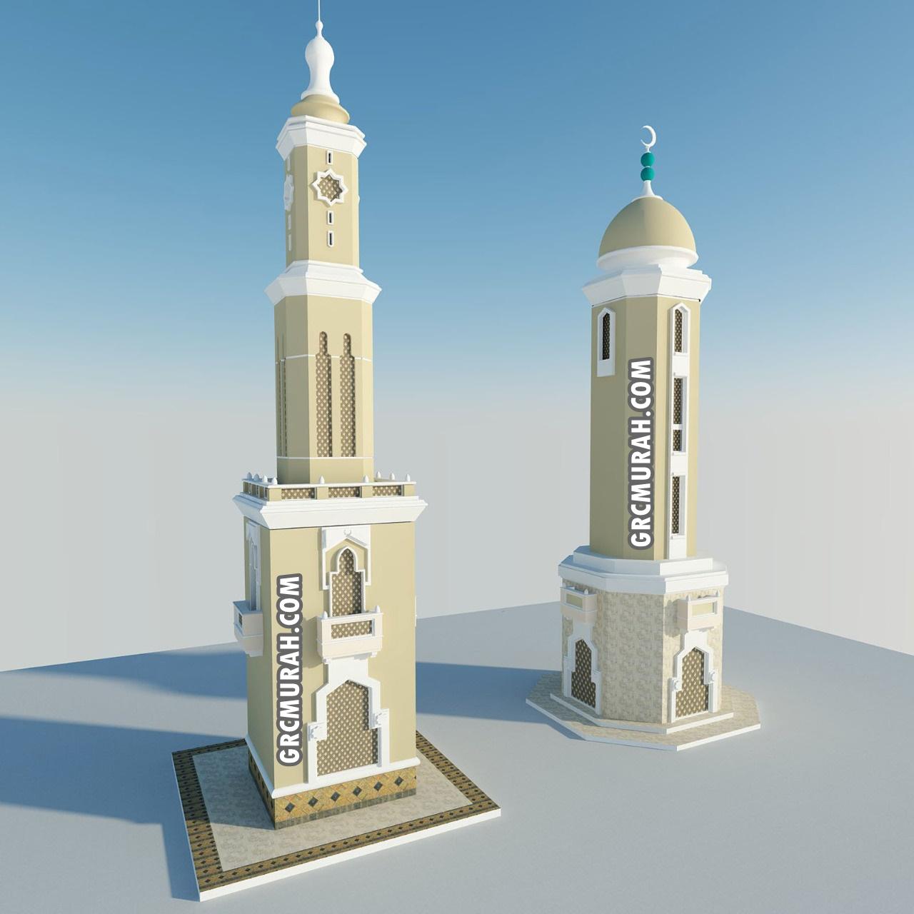 Model Menara Masjid 01 - Harga Menara Masjid