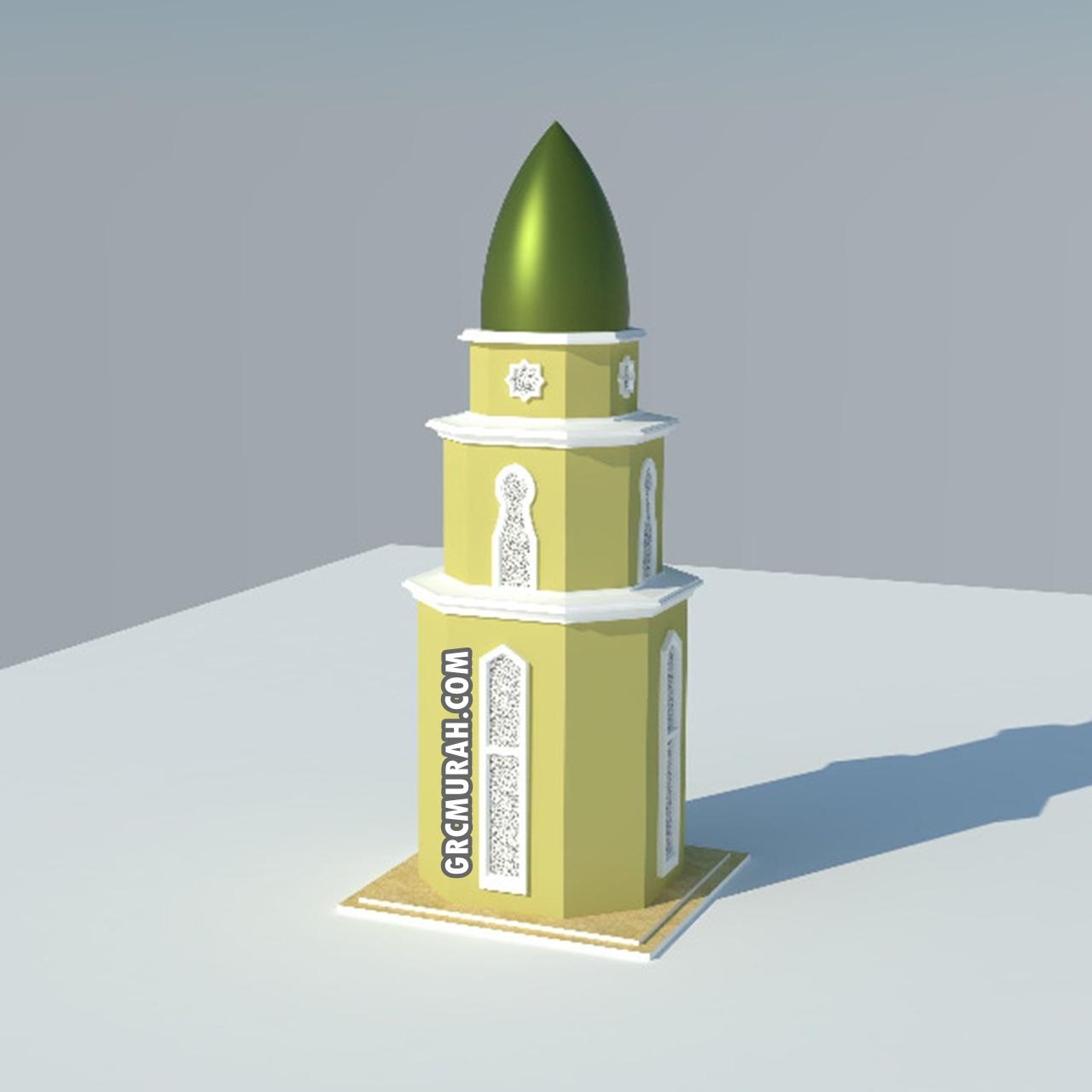 Model Menara Masjid 02 - Harga Menara Masjid