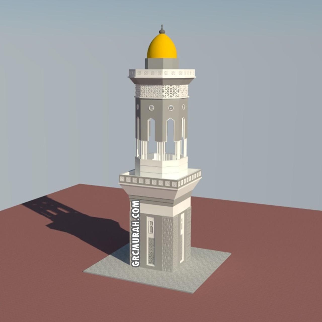Model Menara Masjid 03 - Harga Menara Masjid