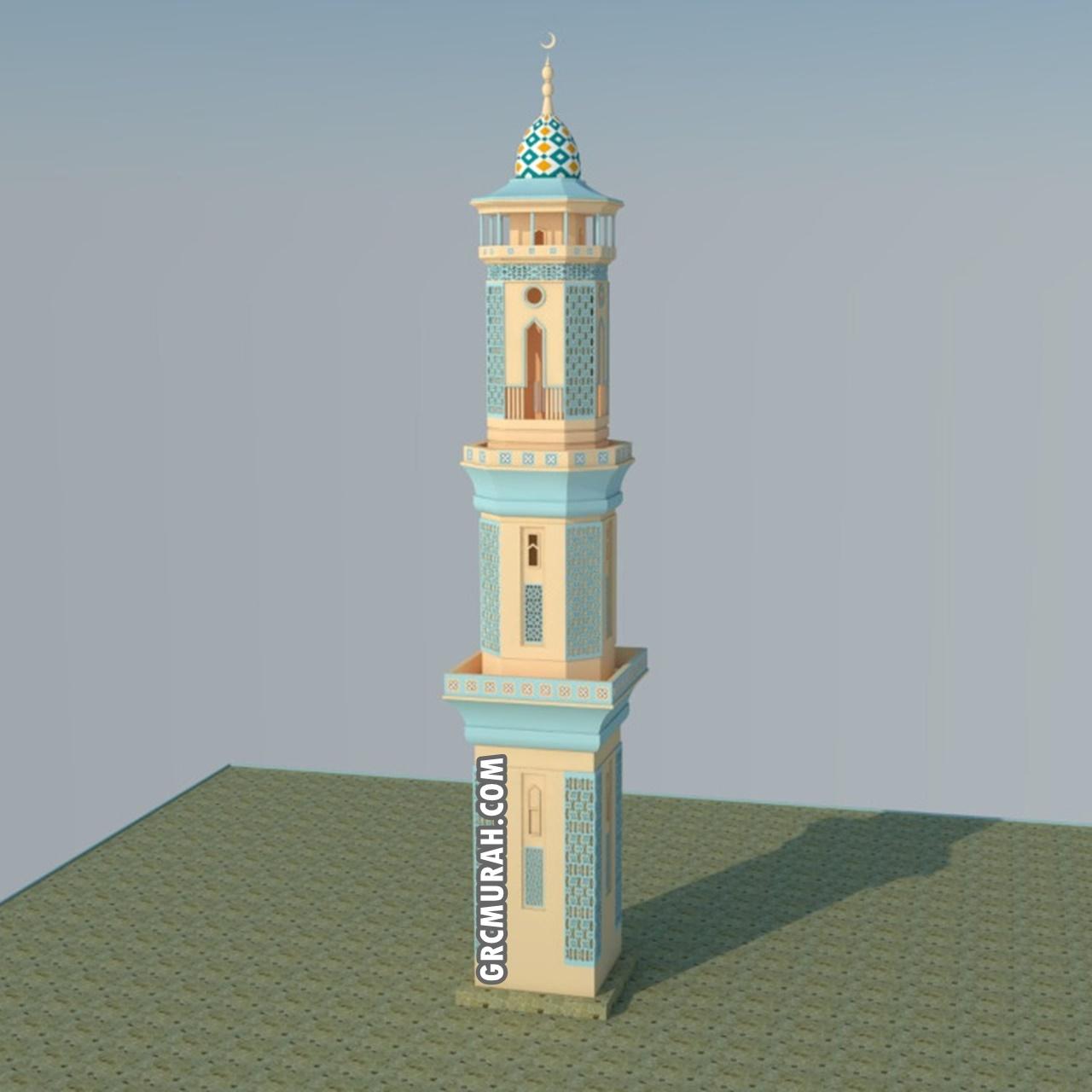 Model Menara Masjid 05- Harga Menara Masjid