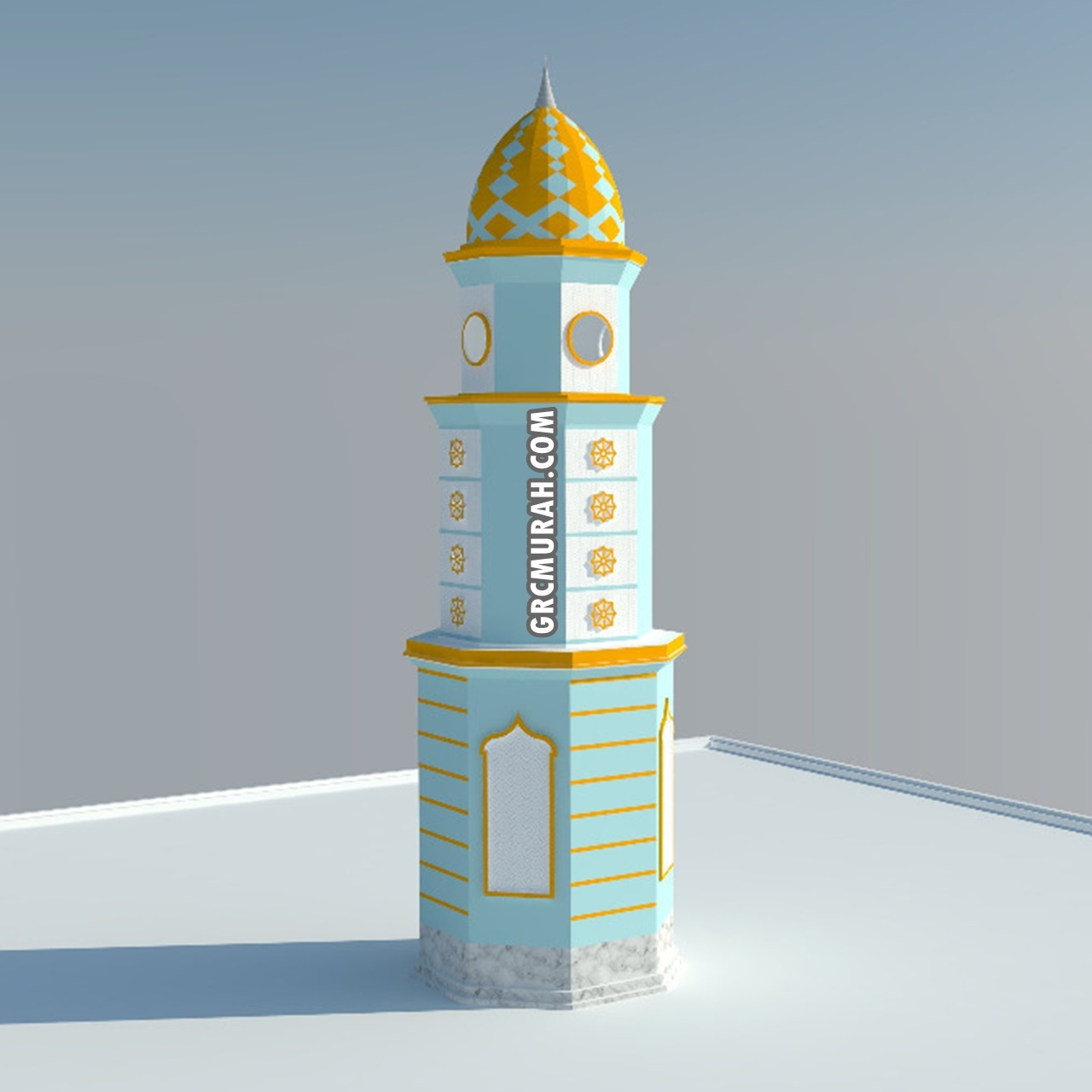 Model Menara Masjid 06 - Harga Menara Masjid