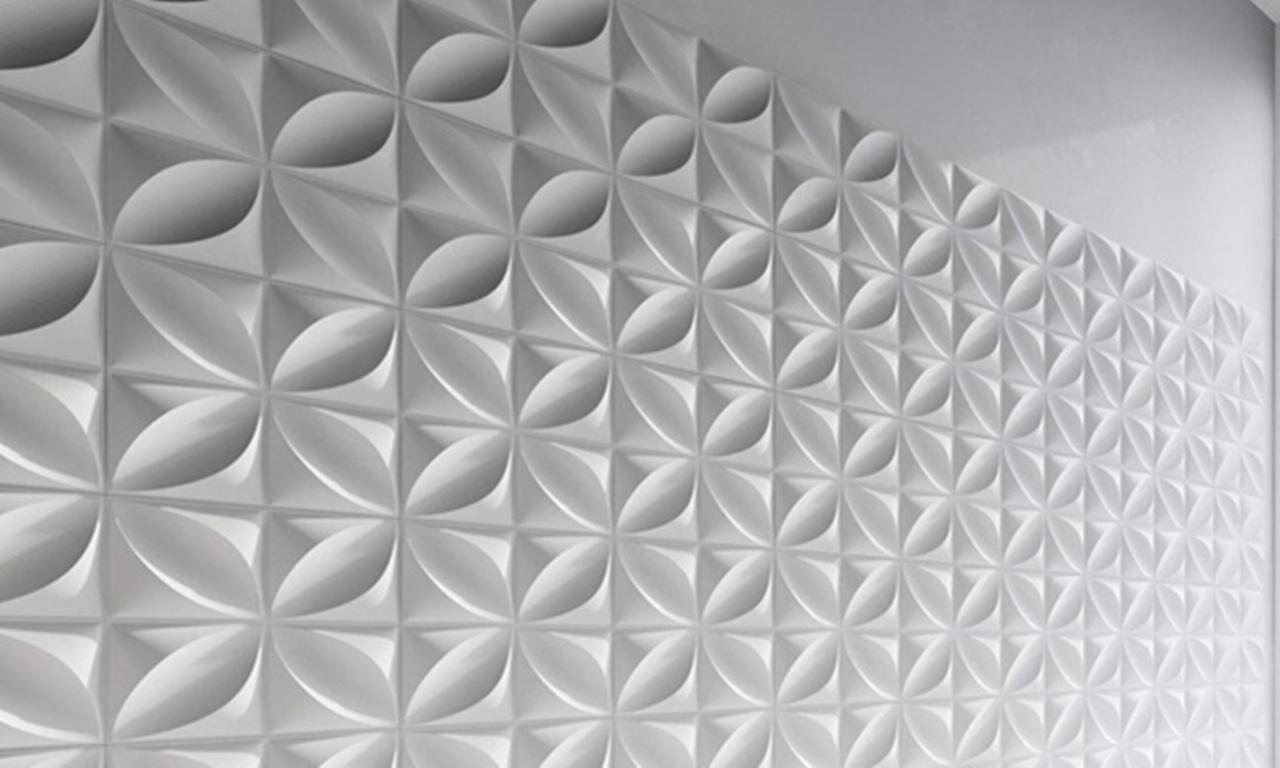 Panel Dinding 3D Model 002