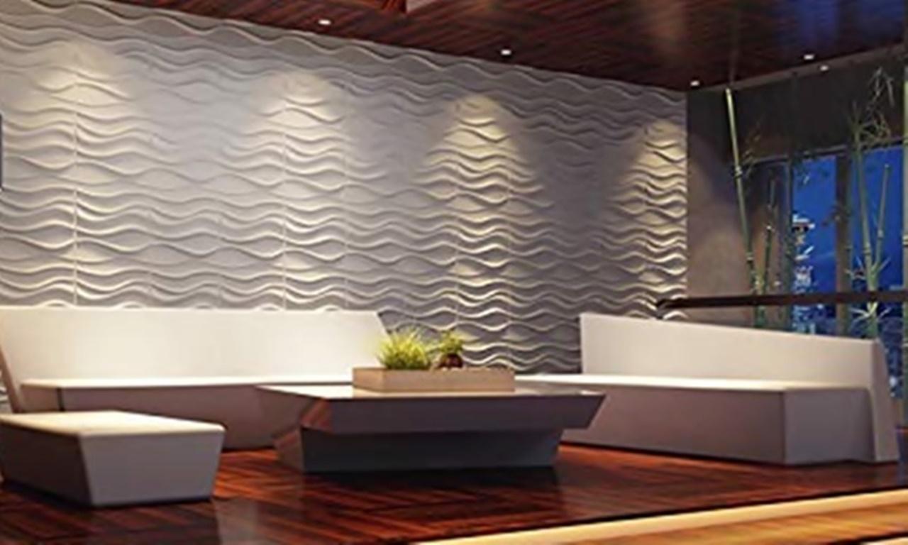 Panel Dinding 3D Model 005