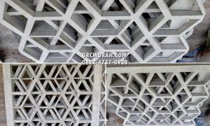 GRC Krawangan Ornamen Fasad Rumah Bapak Ricky di Surabaya