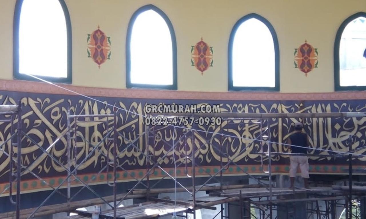 Jasa Kaligrafi Masjid 3d GRC -001