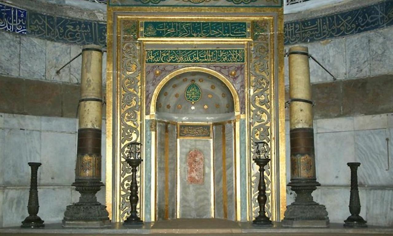 Mihrab Masjid GRC 008