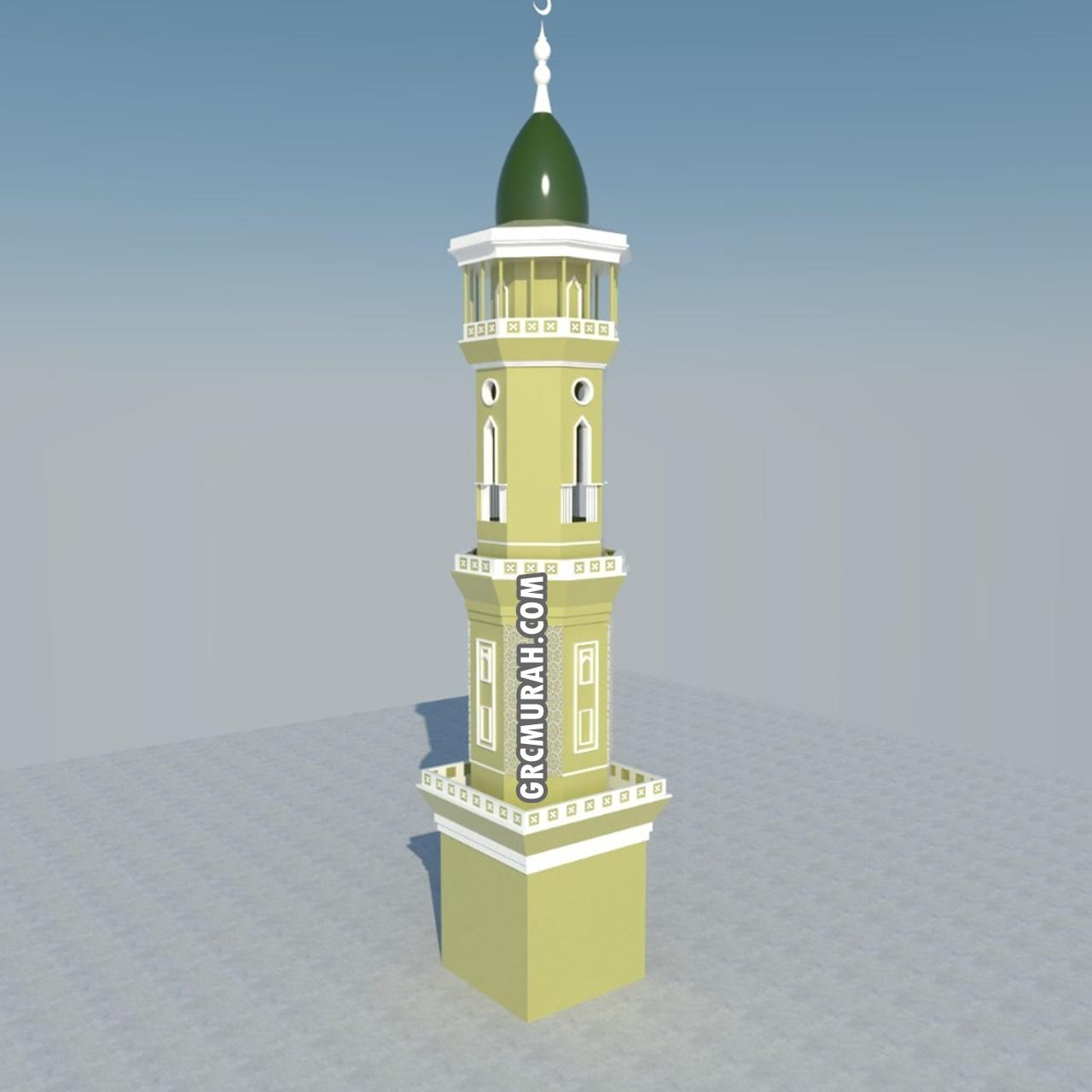 Model Menara Masjid 07 - Harga Menara Masjid F