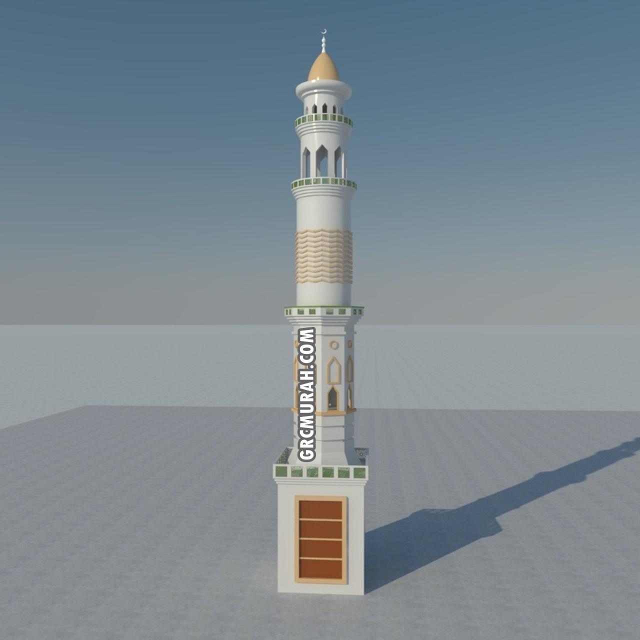 Model Menara Masjid 08- Harga Menara Masjid F