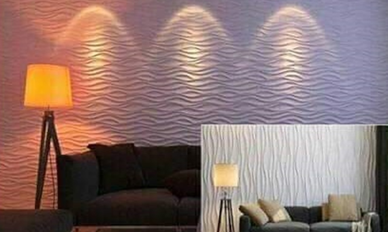 Panel Dinding 3D 007