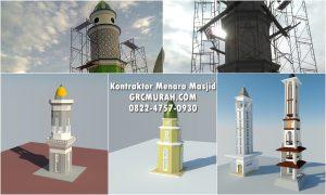 Biaya Pembuatan Menara Masjid oleh Kontraktor Menara Masjid Profesional