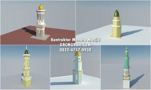 Jual Menara Masjid By Kontraktor Menara Masjid Profesional