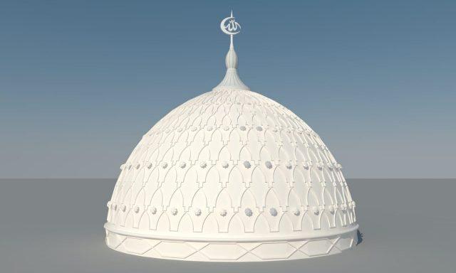 Harga Kubah Masjid GRC Murah